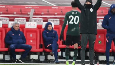 Alli Cekcok Dengan Mourinho