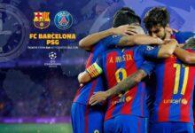 Big Match Barcelona Vs PSG 2020