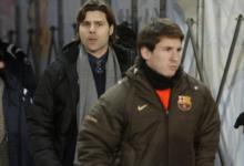 Messi Bersama Mantan Kompatriotnya Poche