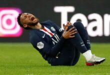 Neymar Cidera PSG Vs Lyon 2020