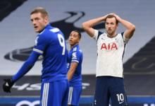 Vardy Cetak Gol Lawan Tottenham
