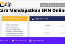 Cara Mendapatkan EFIN Online
