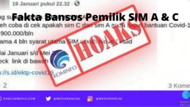 Fakta Bansos Pemilik SIM