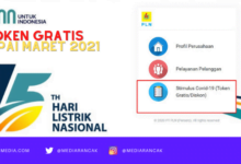 Token Gratis PLN Sampai Maret 2021