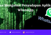 Cara Mengatasi hacking WA