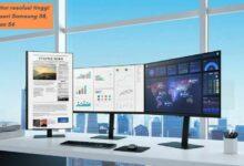 Monitor resolusi tinggi dari seri Samsung S8, S7 dan S6