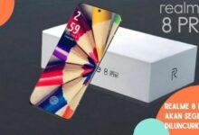 Realme 8 Pro akan diluncurkan