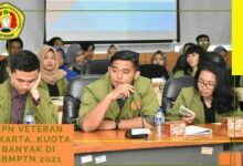 UPN Veteran Jakarta, Kuota banyak di SBMPTN 2021