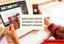Bantuan Kuota Internet Untuk Perkuat Edukasi