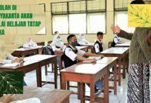 Sekolah Di Yogyakarta Akan Mulai Belajar Tatap Muka