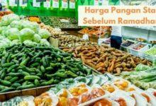 Harga Pangan Stabil Sebelum Ramadhan