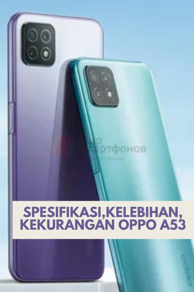 Spesifikasi,kelebihan,kekurangan Oppo A53
