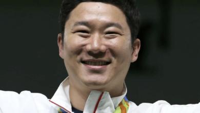 Atlet Jin Jong-oh Penembak Korea Selatan
